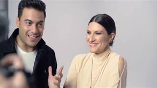 Así Grabaron Laura Pausini Y Carlos Rivera El Video De Su Sencillo La Solución