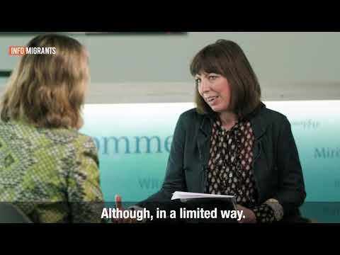 Kelly Clements, Deputy High Commissioner for the UNHCR sat down with InfoMigrants | Video: Cem Springer. Subtitles: Aasim Saleem