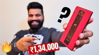 Porsche Design Mate 30 RS Unboxing & First Look - 1,34,000INR of Luxury Performance🔥🔥🔥