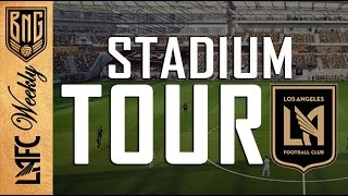 Take a virtual tour of LAFC's Banc of California Stadium