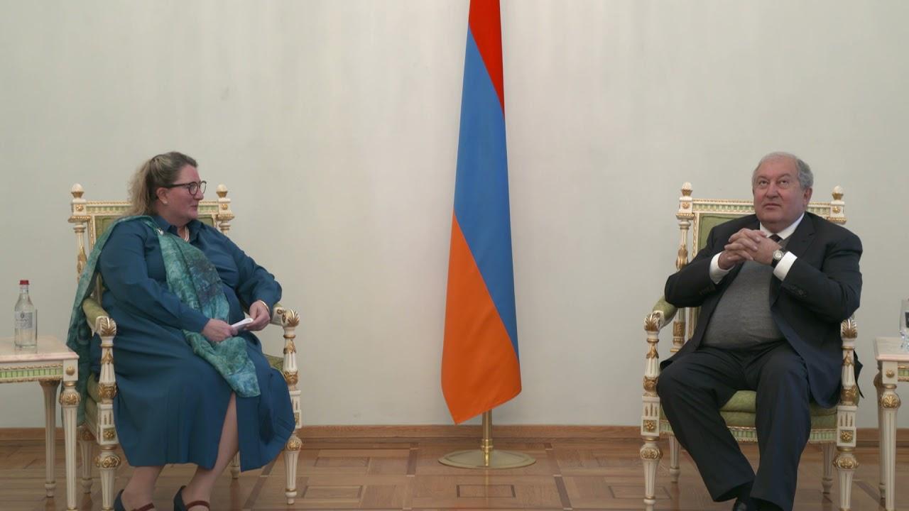 Новоназначенный посол Норвегии выразила готовность приложить все усилия для стимулирования экономической активности стран