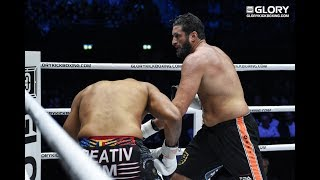 GLORY 62: Benjamin Adegbuyi Vs Jamal Ben Saddik (Tournament Final)   Full Fight