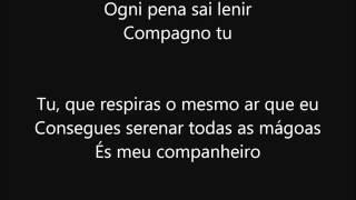 Luciano Pavarotti - Voglio Vivere Così (Tradução em Português)
