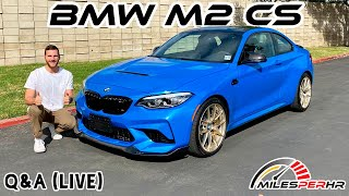 2021 BMW M2 CS Dual-Clutch Q&A (Live) by MilesPerHr