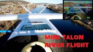Mini Talon FPV River flight