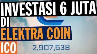 Investasi 6 juta di Elektra Coin ICO