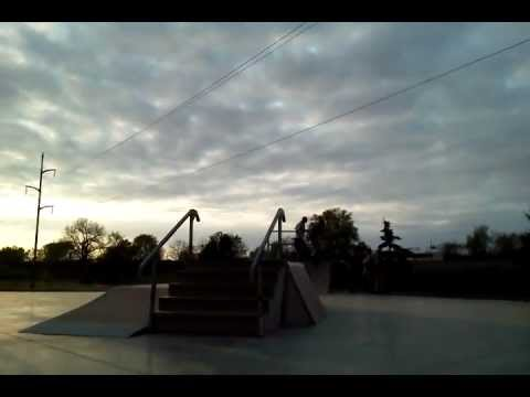 Skateboarding in Mitchell sd