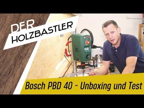 Bosch PBD 40 - Ist sie ihr Geld wert??? - Unboxing und erster Test