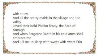 John McDermott - The Bard of Armagh Lyrics