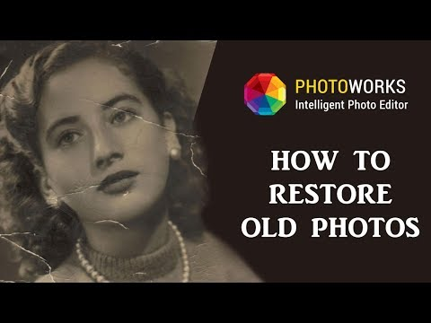 How to Restore Old Photos - 5-Minute Fix Without Photoshop