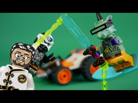 Vidéo LEGO Ninjago 71706 : Le bolide de Cole