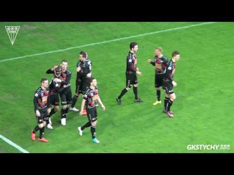Skrót meczu GKS Tychy - Stomil Olsztyn