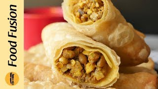 Spicy Lentil Rolls By Food Fusion (Ramzan Recipes)