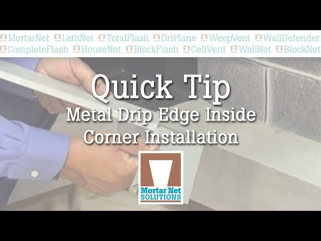 Quick Tip - Metal Corner