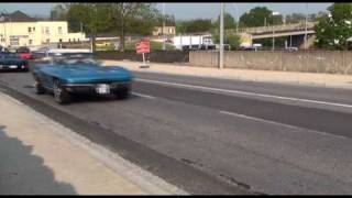 preview picture of video 'Corvette Owners Luxemburg 10th anniversary meeting 2 may 2009'