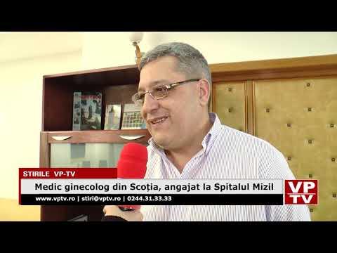 Medic ginecolog din Scoția, angajat la Spitalul Mizil