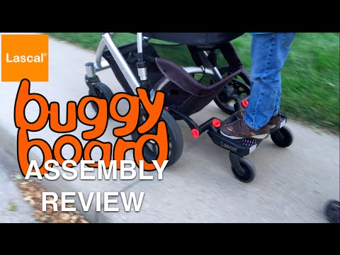 Lascal Buggy Board Mini Assembly and Review