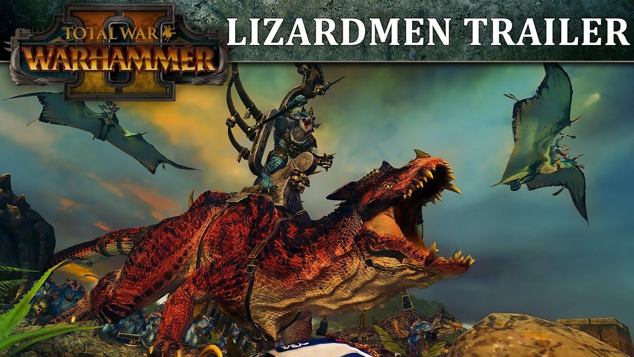 Total War: WARHAMMER 2 – Lizardmen In-Engine Trailer