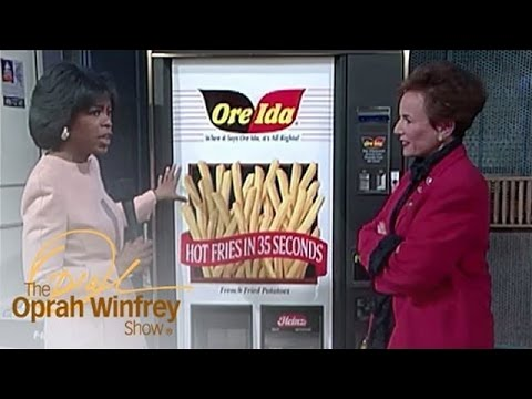 Oprah Tries the Food of the Future: Instant French Fries! | The Oprah Winfrey Show | OWN