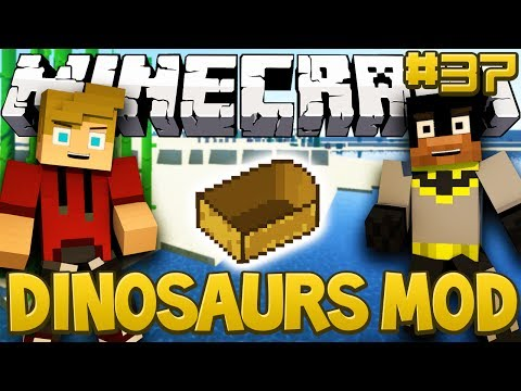 Minecraft Walkthrough - Dinosaurs Mod (Fossils and Archaeology
