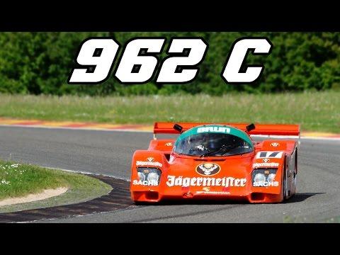 Porsche 962c Group C at Spa and Zandvoort