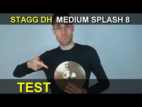 Stagg DH medium splash 8 peso 180gr test prova #10