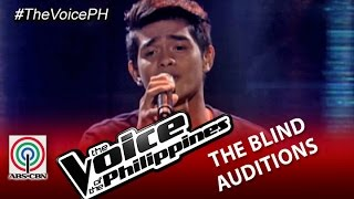The Voice Of The Philippines Blind Audition Tadhana By Daniel Ombao Season 2