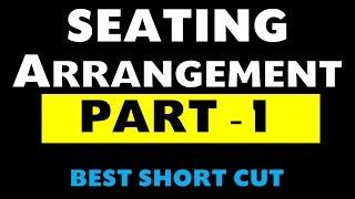 Seating arrangement Part -1 (Bank Po / SSC / NDA / CDS / CSAT / State PSC exams)