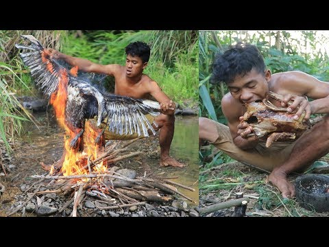 Download Adventure In Forest - Find Food Delicious In The Jungle -Cooking Duck Eating Delicious HD Mp4 3GP Video and MP3