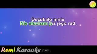Ania Dąbrowska - Nigdy więcej nie tańcz ze mną (karaoke - RemiKaraoke.com)