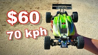Super Fast Crazy Small 4WD RC Buggy - WLtoys A959-B - TheRcSaylors