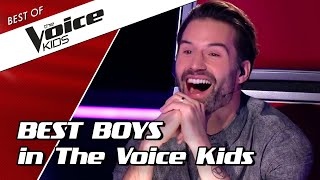 TOP 10 | BEST BOYS Blind Auditions In The Voice Kids
