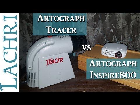 Artograph Tracer and Inspire 800 projectors   w/ Lachri