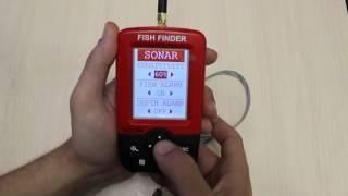 Инструкция к эхолоту fishfinder на русском