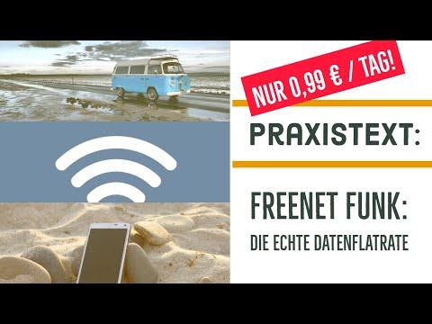 Freenet Funk : Praxistext der echten 99ct-Flatrate im Camper
