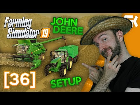 JOHN DEERE SETUP! | Farming Simulator 19 #36