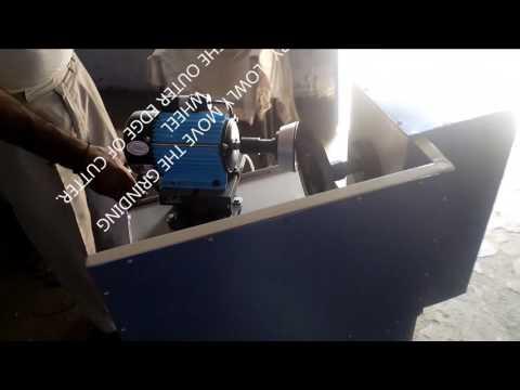 Tungsten Carbide Blade Cutter Sharpening Machine