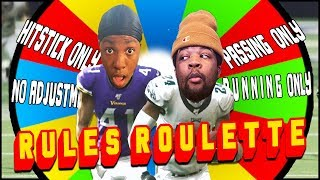 Madden 20... But Every Quarter The Rules CHANGE!