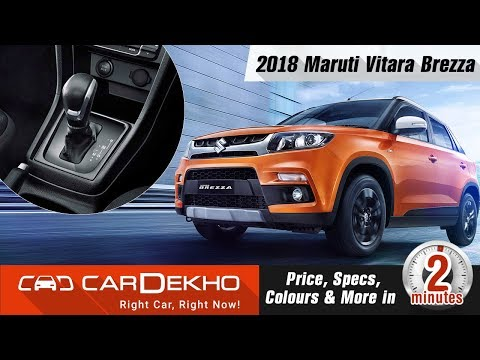 2018 Maruti Vitara Brezza AMT | Price, Specs, Colours and More | #In2Mins
