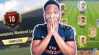 FUT CHAMPIONS WITH A THE SLOWEST TEAM ON FIFA! TOP 10 ? - FIFA 18 ULTIMATE TEAM