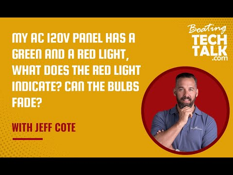 Ask PYS - My AC 120V Panel Has a Green and a Red Light, What Does the Red Light Indicate? Can The Bulbs Fade?