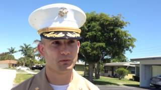 Marines Surprise WWII Veteran