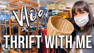 THRIFT WITH ME | Bohemian Home Decor Haul | VLOG