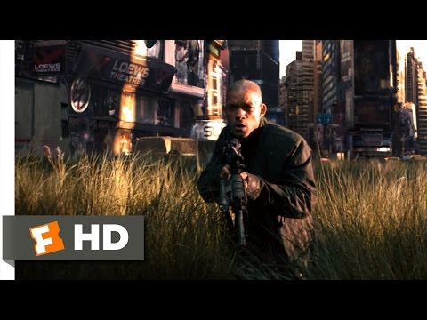 I am legend  1 10  movie clip   hunting in the city  2007  hd