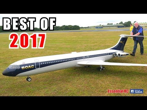③ BEST OF ESSENTIAL RC 2017   LARGE SCALE AND FAST RC ACTION