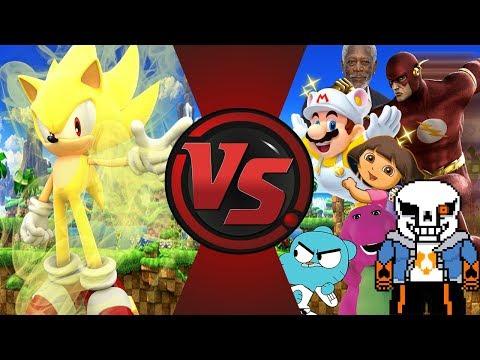 Sonic Generations Mod Part 133_ Dark Sonic VS Dark Shadow