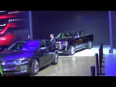 Chevrolet - Dubai International Motor Show 2015