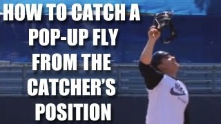 Baseball Catcher Tips: How To Catch A Pop Up Fly With Miguel Montero