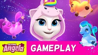 🦄 Unicorn Mini-Game 🦄 in My Talking Angela (NEW UPDATE)