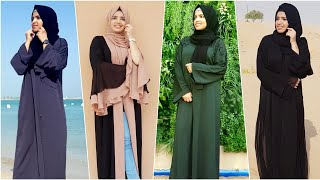 Abaya Haul | Alanbar_abaya Unboxing And Review | Trendy Fashion Abayas | Asniya Shabeer